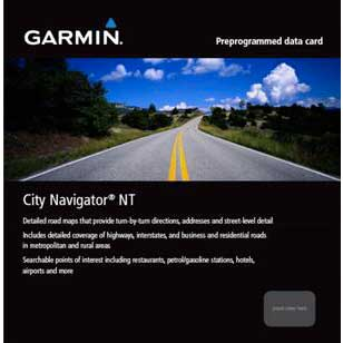 Garmin City Navigator Spain and Portugal for eTrex HCX, Oregon Series and Edge 800