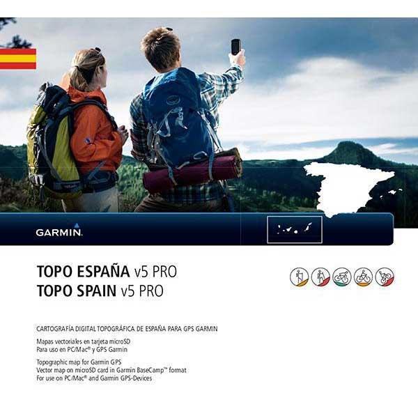 Garmin TOPO España V5 Pro MicroSD/SD, Motardinn