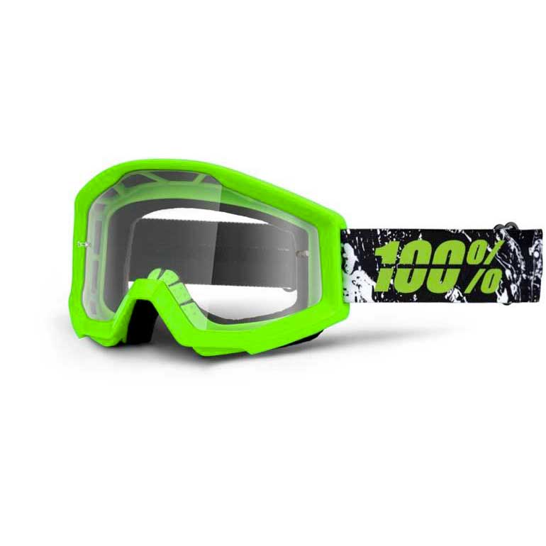 100percent Goggle Strata Crafty Lime