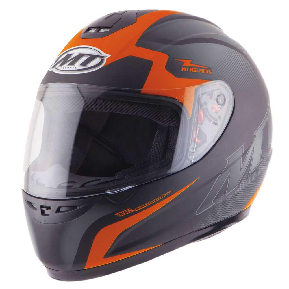 Mt helmets Thunder Squad Orange Matt