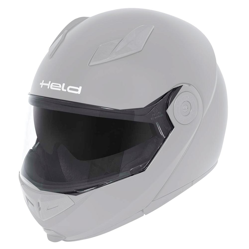 Held Visor for Helmet Travel Champ