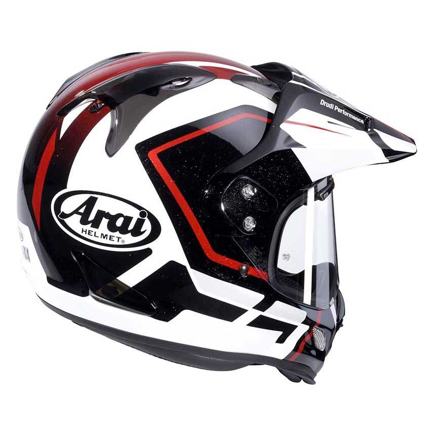 arai tour x4 detour red buy and offers on motardinn. Black Bedroom Furniture Sets. Home Design Ideas