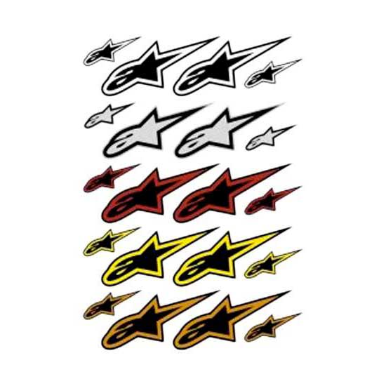 Alpinestars A Star Stickers Kit 20pcs