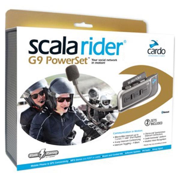 Cardo Scala Rider G9 Powerset Buy And Offers On Motardinn