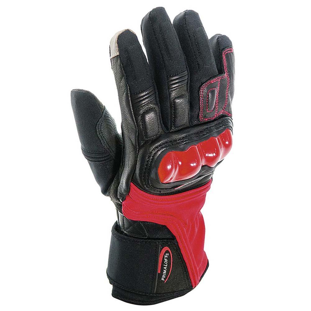 Garibaldi Active Pro Primaloft Gloves Red, Motardinn