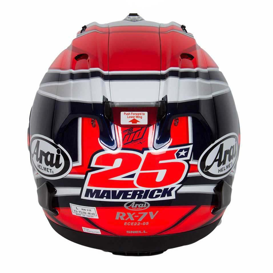 arai rx 7v replica maverick vi ales buy and offers on motardinn. Black Bedroom Furniture Sets. Home Design Ideas