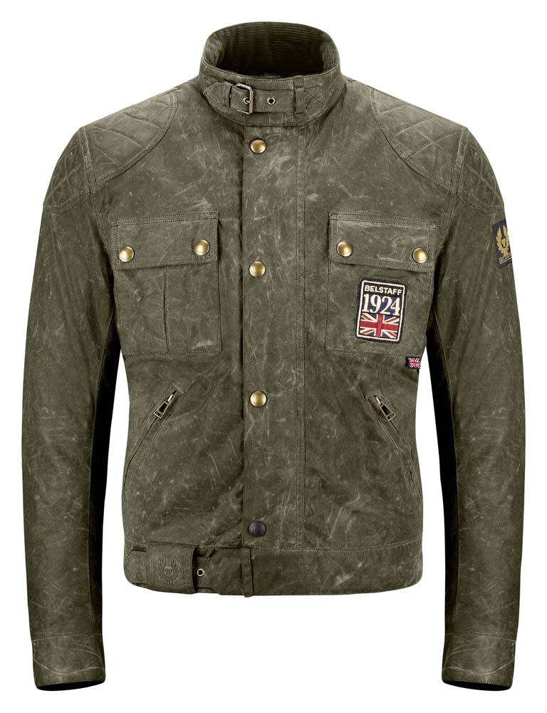 Belstaff Jubilee Brooklands 6oz. Soywax Cotton Jacket