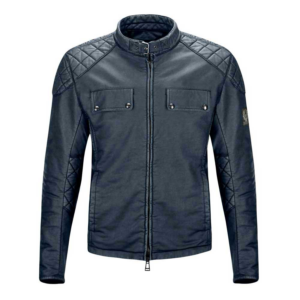 Belstaff X Man Racing Coated Cotton Jacket