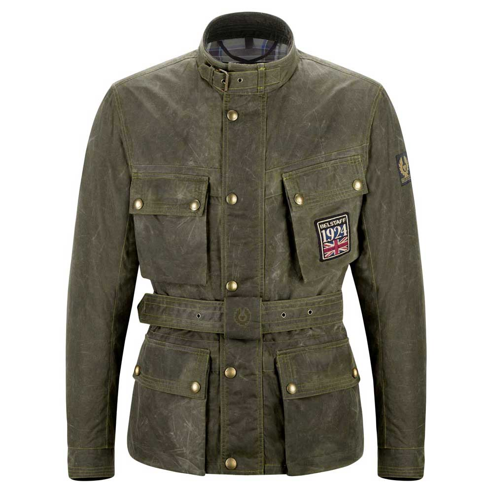 Belstaff Jubilee Trialmaster 6oz. Soywax Cotton Jacket