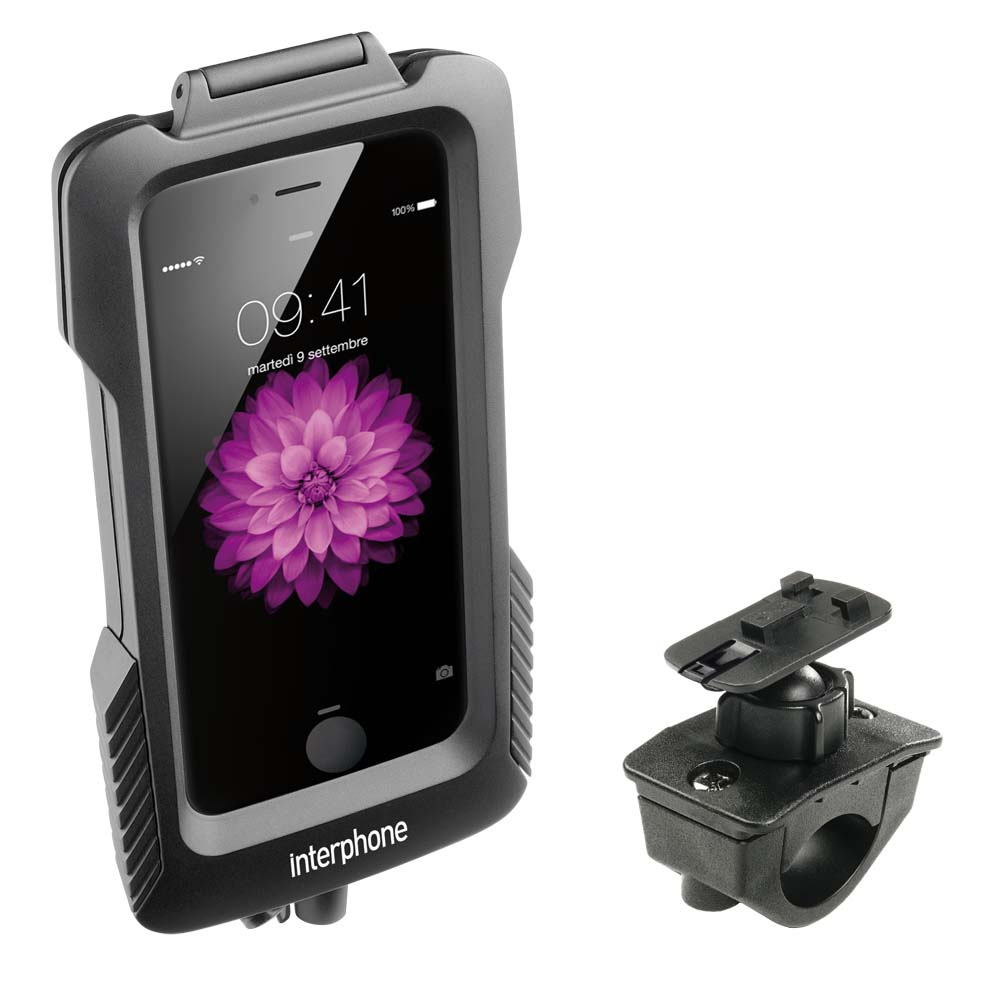 Interphone cellularline Procase for Iphone 6 Plus for Tubular Handlebars
