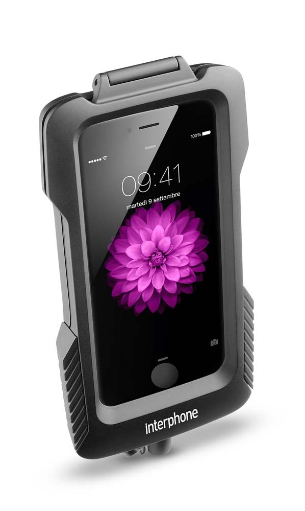 Interphone cellularline Pro Case for Iphone 6 for Scooters for non Tubular Handlebars