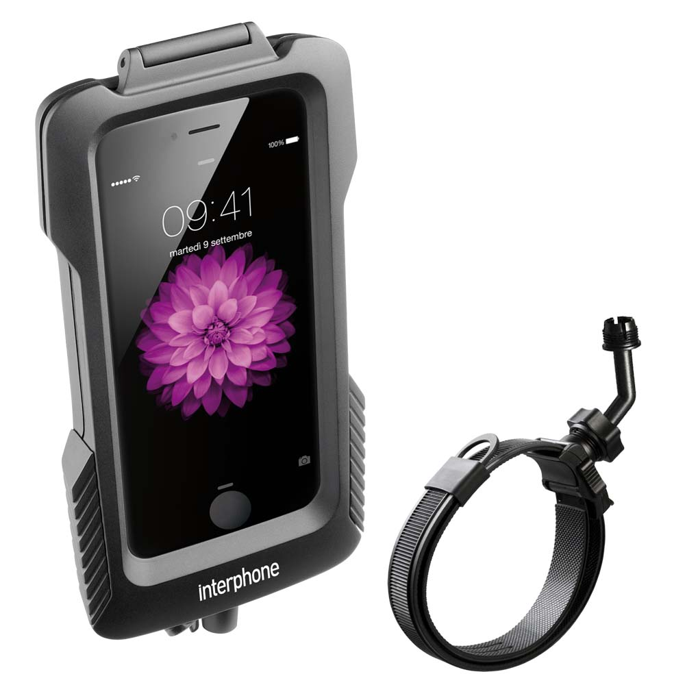 Interphone cellularline Pro Case for Iphone 6 Plus for Scooters for non Tubular Handlebars