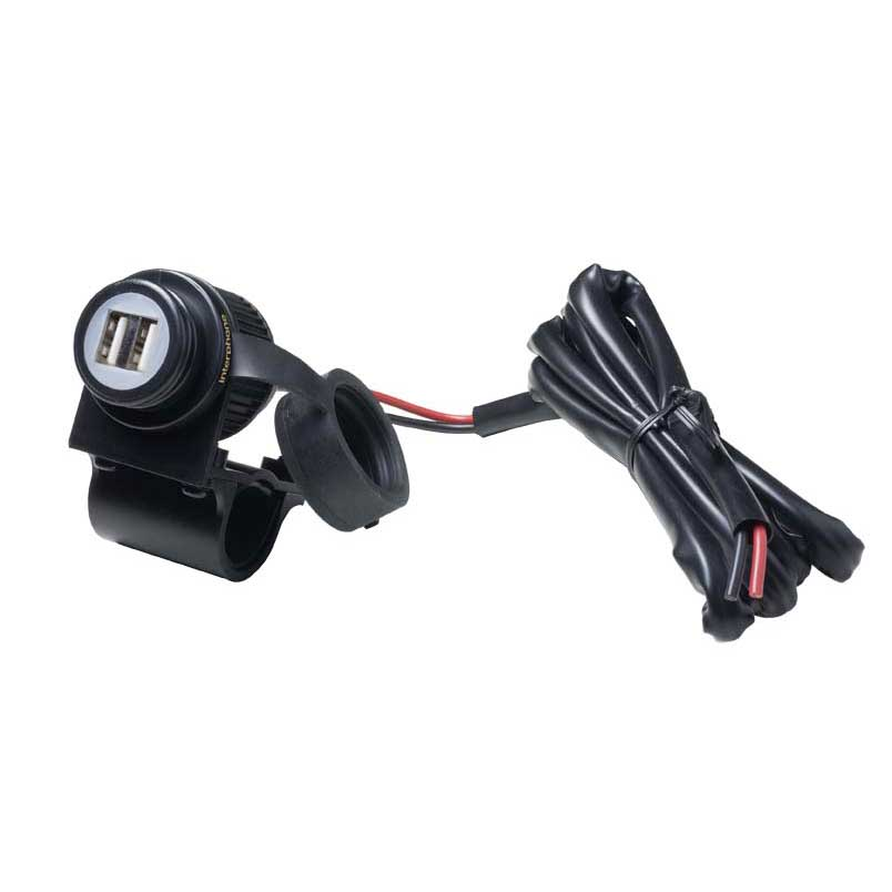 Interphone cellularline Dual USB Port for Handlebar
