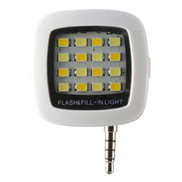 Ksix Selfie Leds Flash With 3.5 Mm Jack For Smartphones