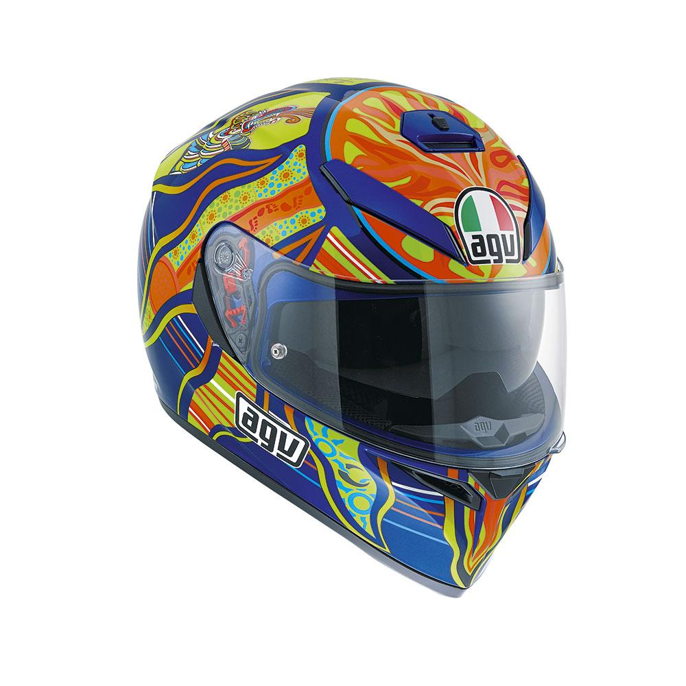 AGV K3 SV Five Continents Pinlock Rossi Replica