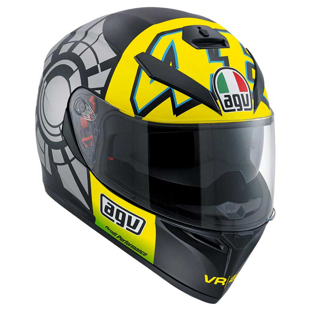 AGV K3 SV Winter Test 2012 Pinlock Rossi Replica