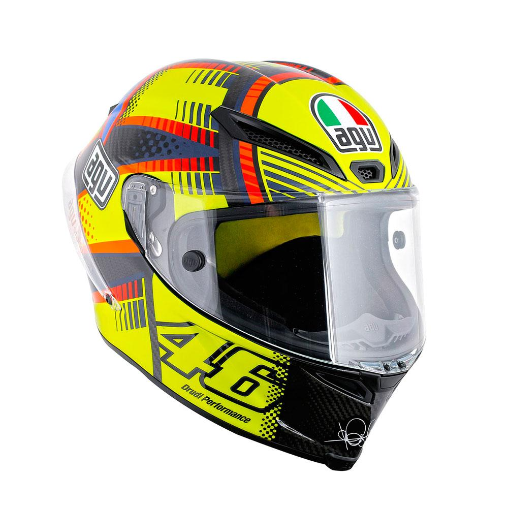 ff51bf34 AGV Pista GP Top Rossi Pinlock buy and offers on Motardinn