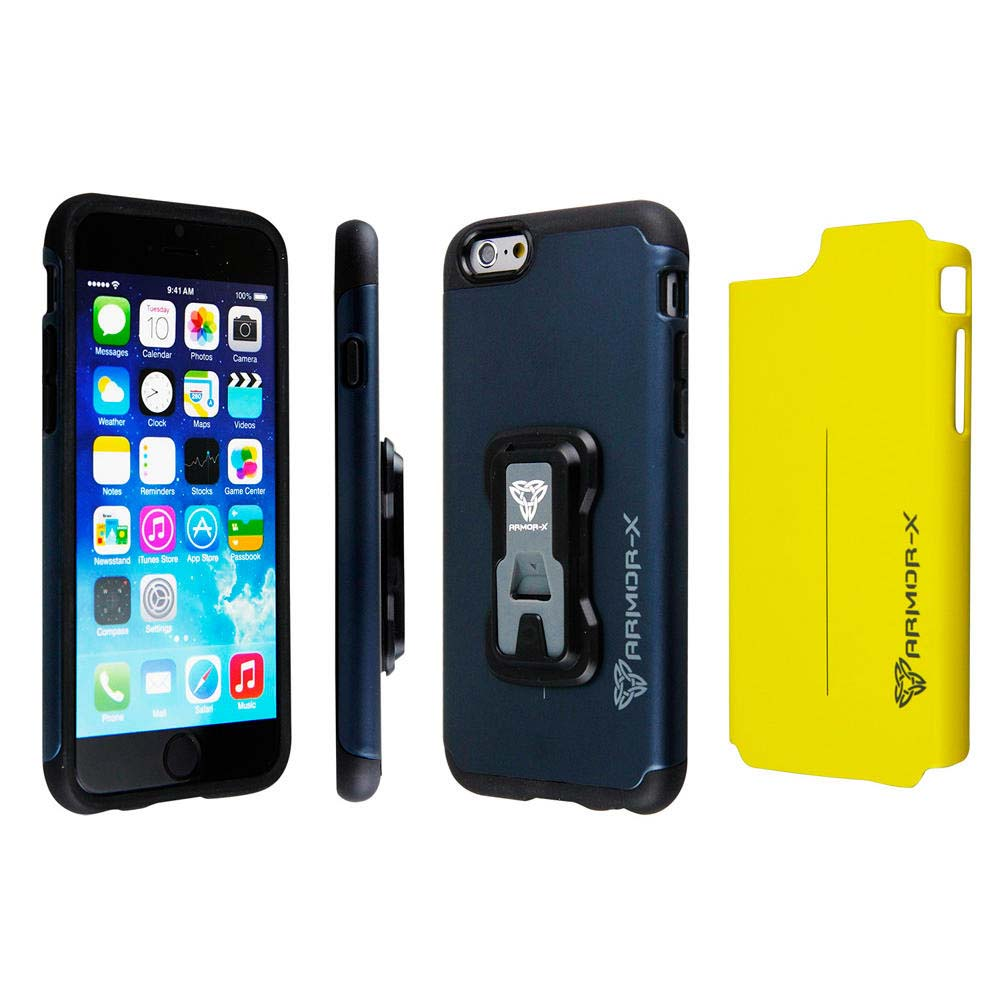 los angeles 35688 6c48e Armor-x cases Rugged case for iPhone 6/6S with X mount