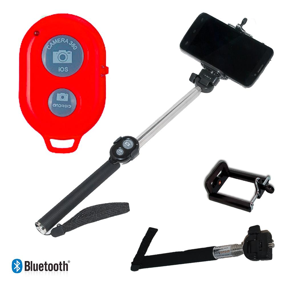 action outdoor extendable selfie stick bluetooth buy and offers on motardinn. Black Bedroom Furniture Sets. Home Design Ideas