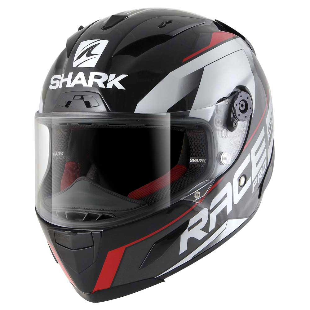 shark race r pro sauer black buy and offers on motardinn. Black Bedroom Furniture Sets. Home Design Ideas