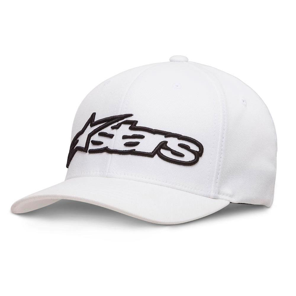 Black White All Sizes Alpinestars Blaze Flexfit Mens Headwear Cap
