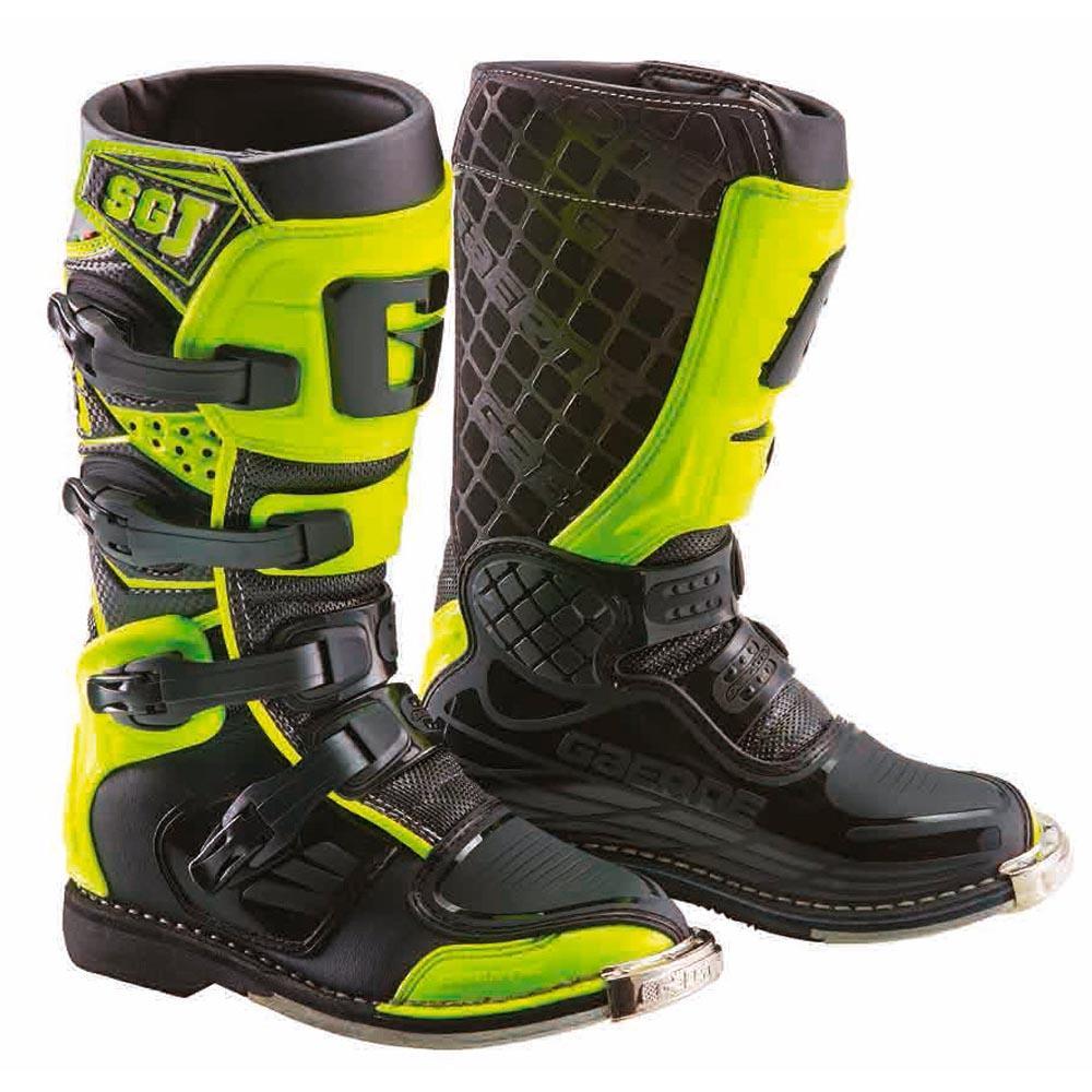 Forma Cougar Kinder Motocross Stiefel Grau//Gelb 34