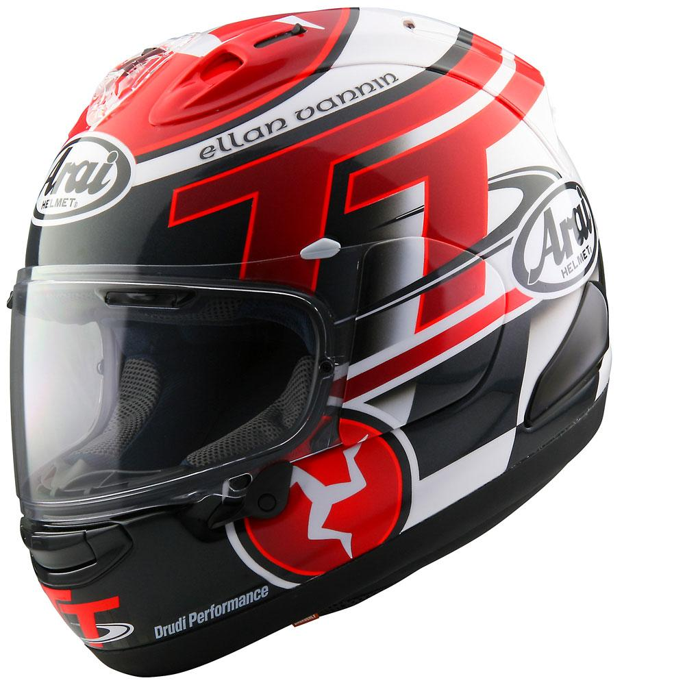 Arai RX 7V Isle of Man TT 2016