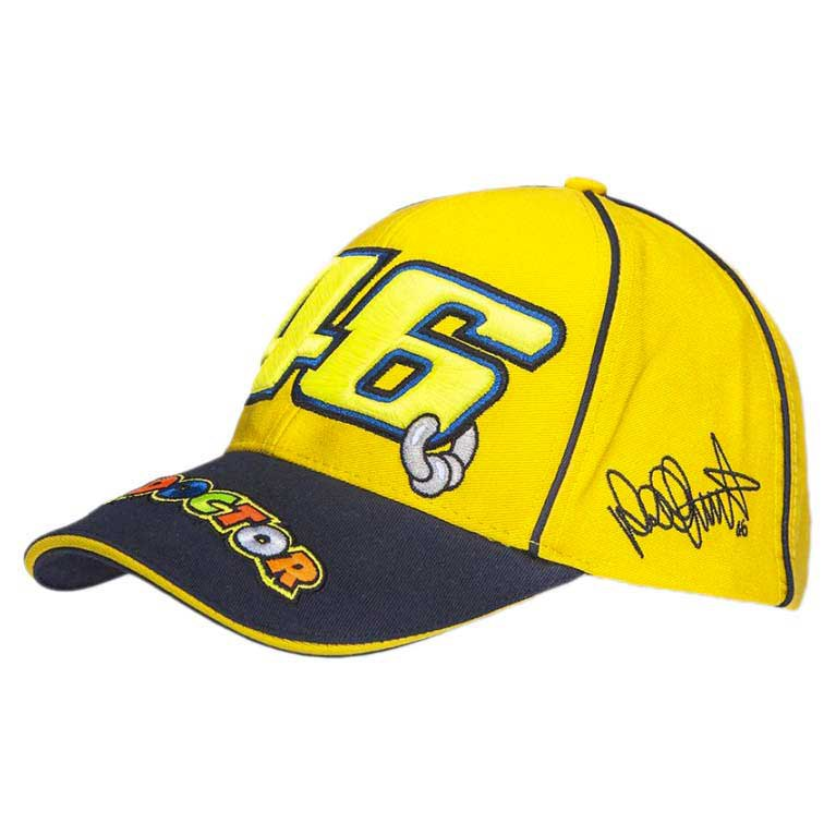 Vr46 46 The Doctor Cap Valentino Rossi 1a7343183d5