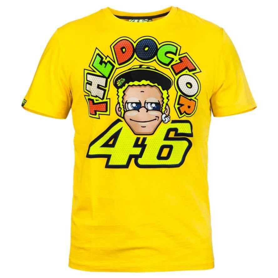 e53139952 Vr46 The Doctor 46 T Shirt Valentino Rossi, Motardinn