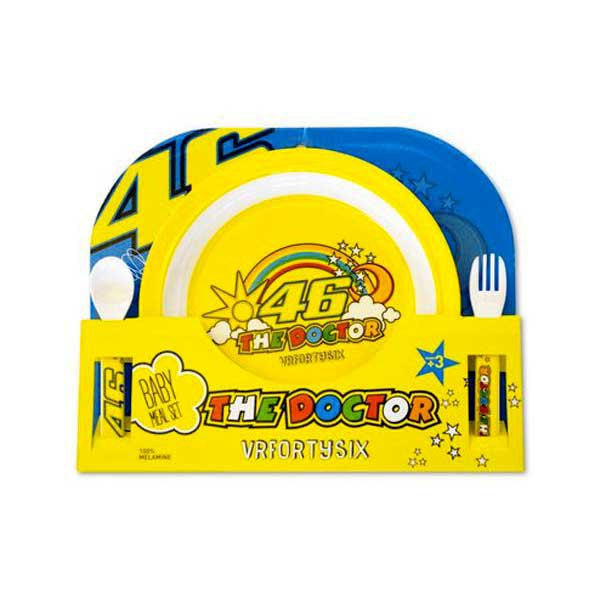 Valentino rossi 46 Rainbow Meal Set