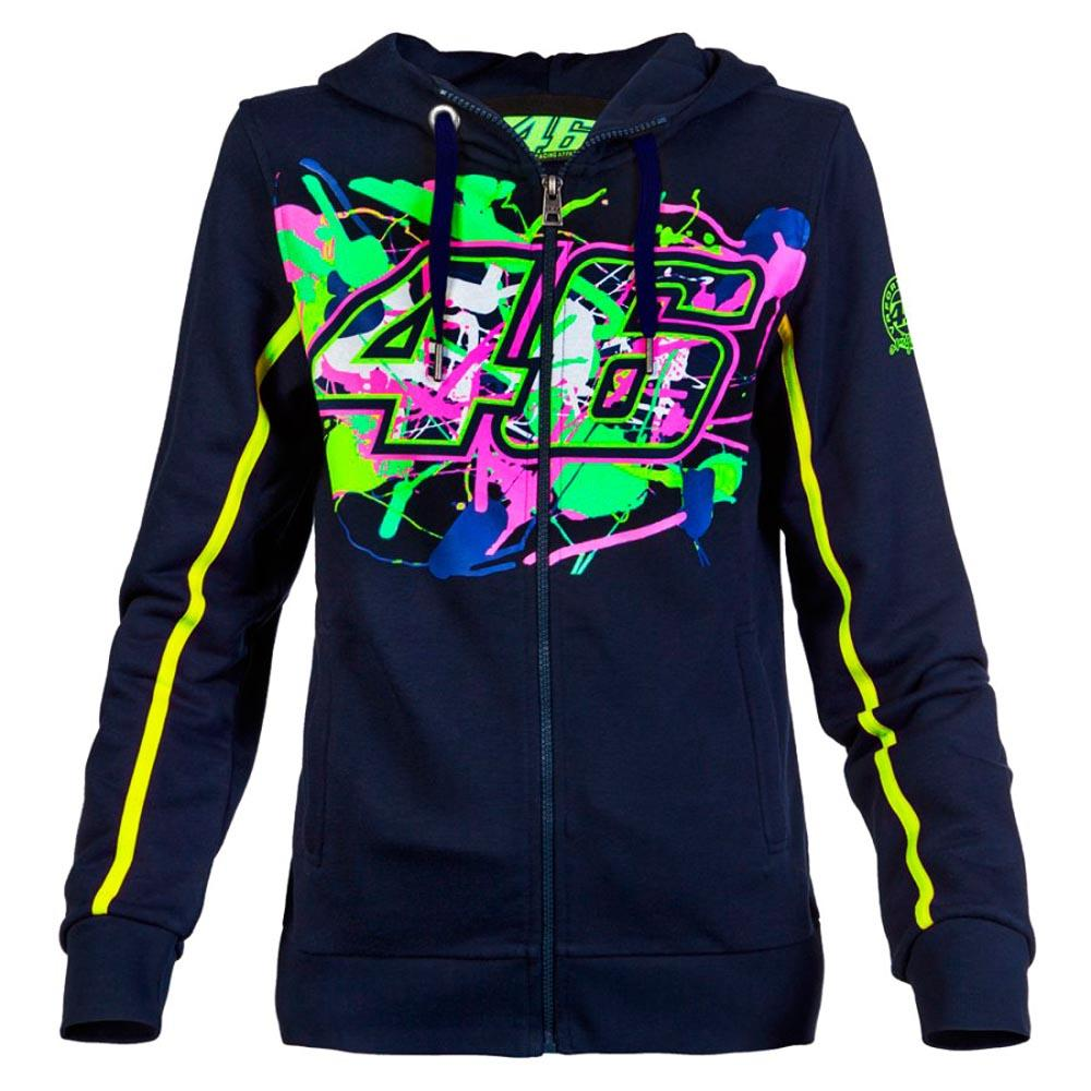 Valentino rossi Woman Painted 46 Fleece