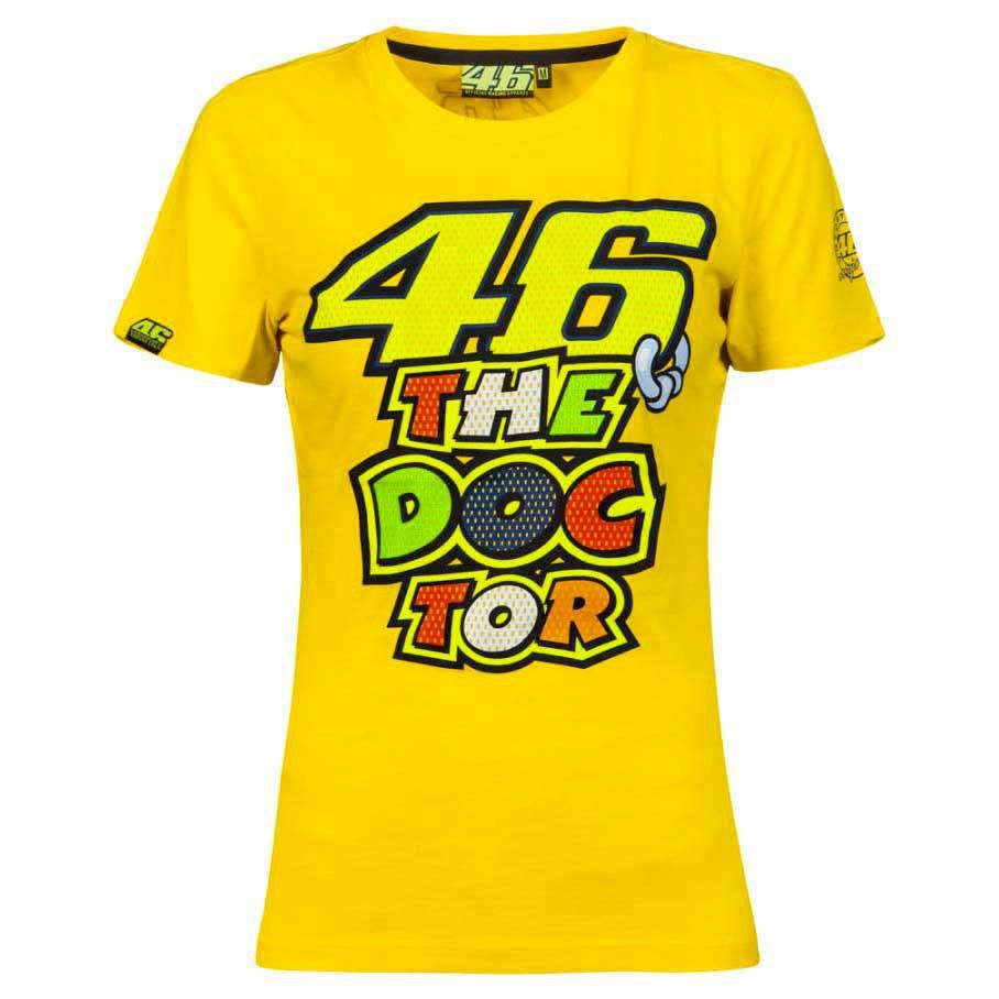 Vr46 Woman 46 The Doctor T Shirt Valentino Rossi Motardinn