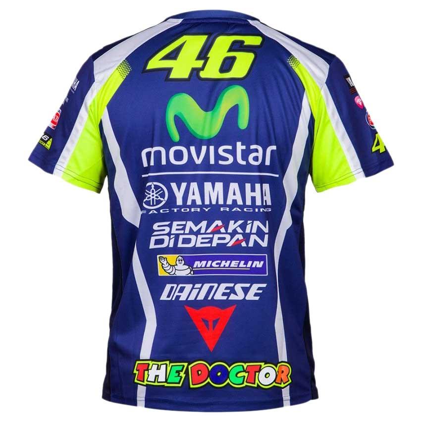 Vr46 T Shirt Replica Yamaha Valentino Rossi Motardinn