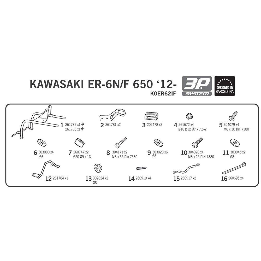 moto kawasaki 650 er6