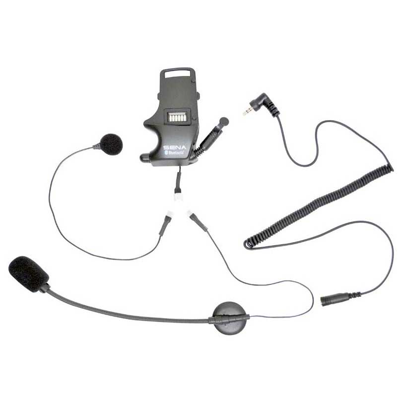 Sena Helmet Clamp Kit for Earbuds with Attachable Boom Microphone and Wired Microphone