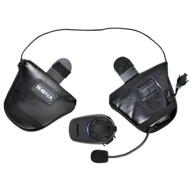 Sena SPH10H-FM Bluetooth Stereo Headset and Intercom with Built In FM Tuner for Half Helmets