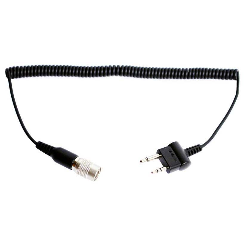 Sena 2Way Radio Cable with Straight Type for Midland and Icom Twin Pin Connector