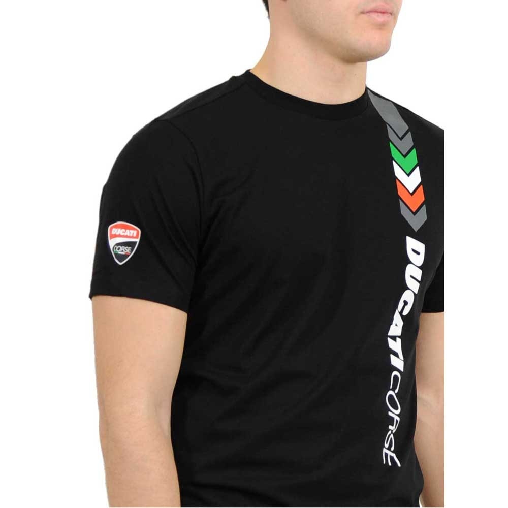 ducati t shirt ducati desmo print black motardinn. Black Bedroom Furniture Sets. Home Design Ideas