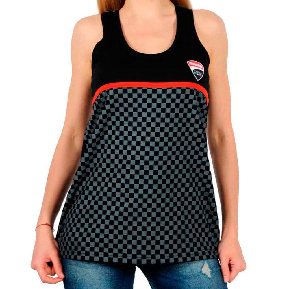 Merchandising Ducati Tank Top Ducati Check Print