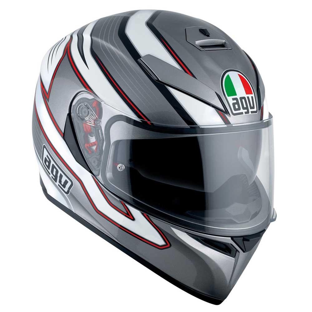 agv k3 sv mizar pinlock 白 motardinn ヘルメット