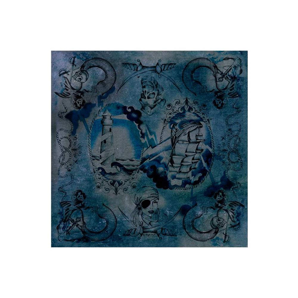 Dmd Silk Scarf Sailor