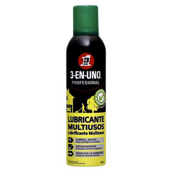 3 en 1 3 in 1 Multiuse Lubricant Spray Garden 250ml