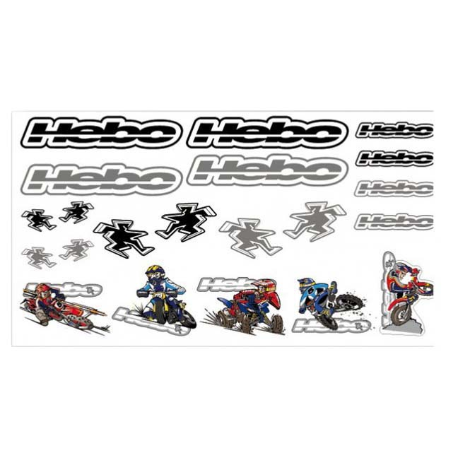 Hebo Hebo Stickers 500x350mm
