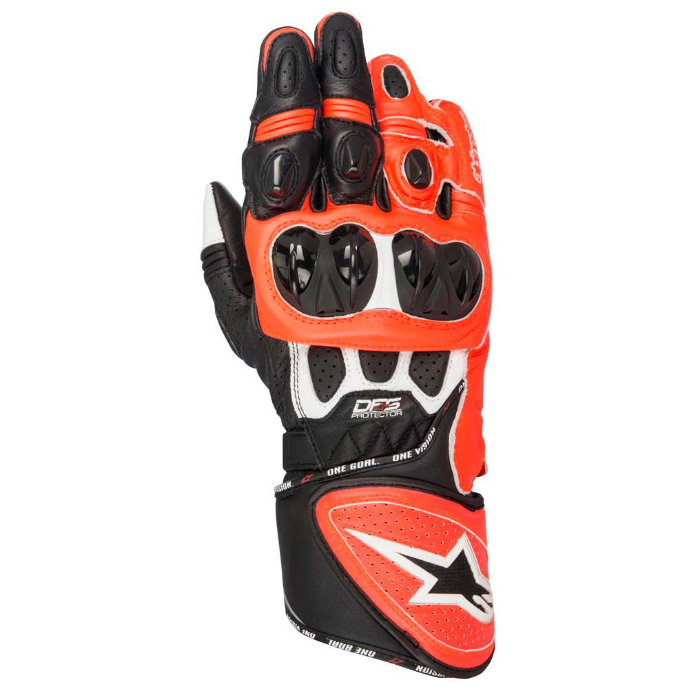 alpinestars gp plus r gloves red buy and offers on motardinn. Black Bedroom Furniture Sets. Home Design Ideas