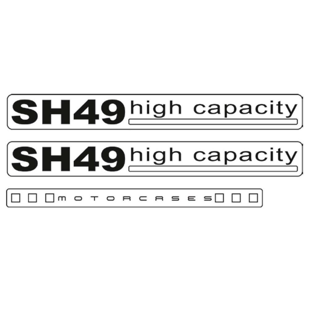 Shad SH49 Shad Stickers