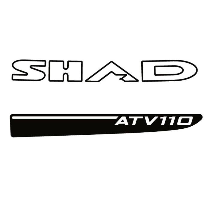 Shad Quad ATV110 Stickers