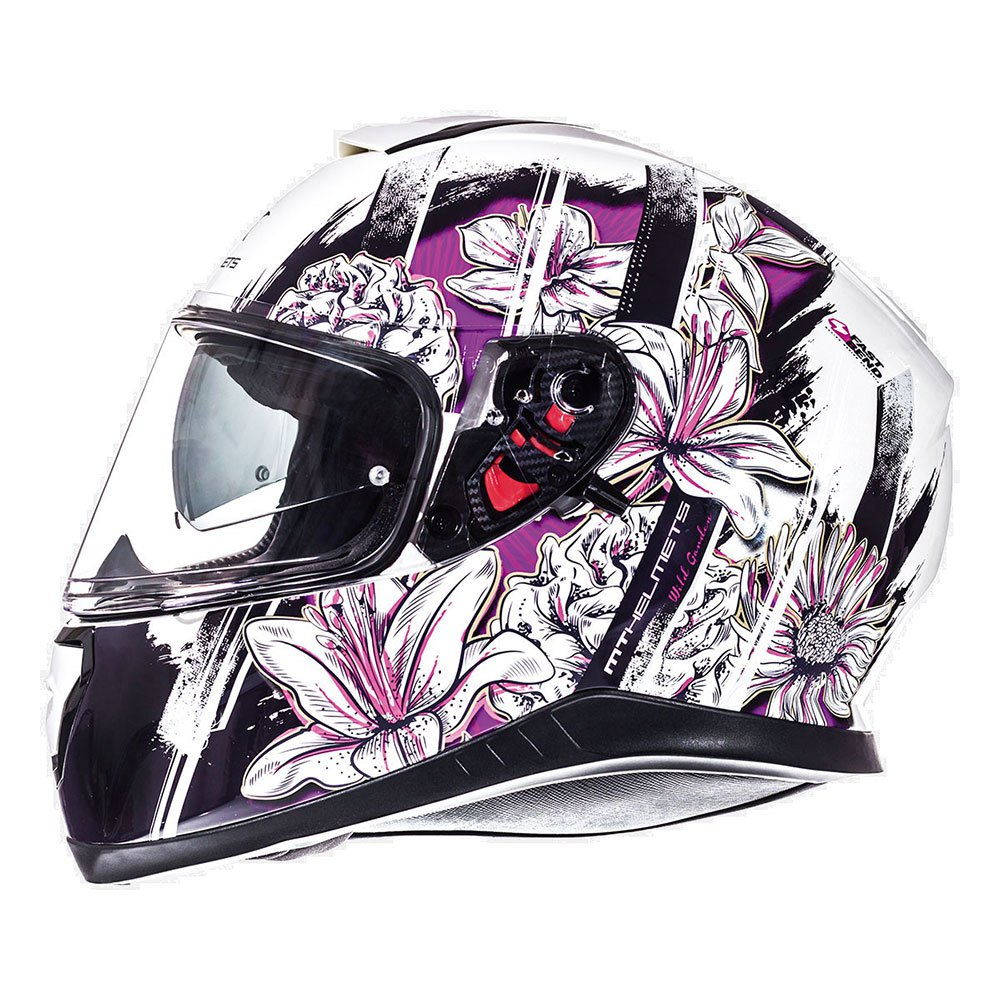 079f1b77 Mt helmets Thunder 3 SV Wild Garden Multicolor, Motardinn