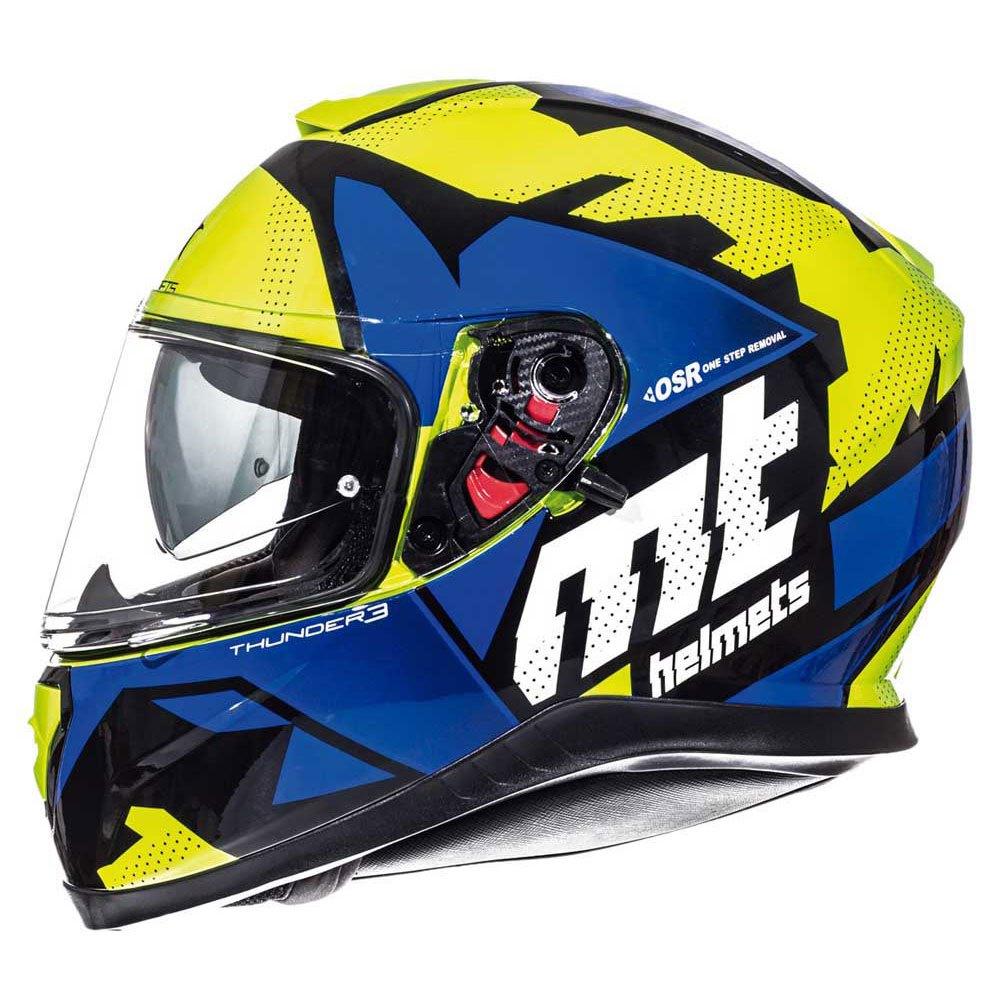 2b5c86ac Mt helmets Thunder 3 SV Torn Yellow buy and offers on Motardinn