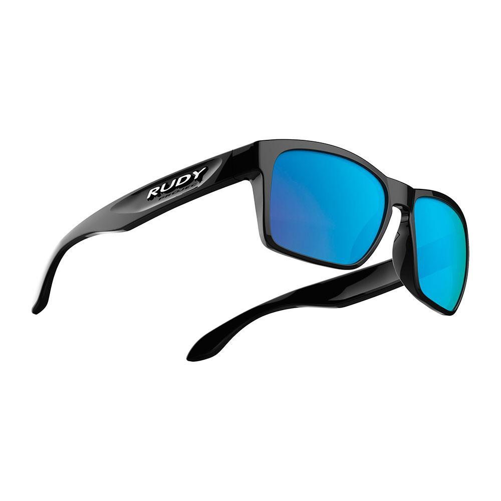 9e753006f Rudy project Spinhawk Slim Black Gloss Multilaser Blue Blue, Motardinn