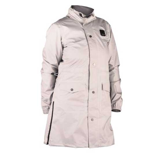 Mama Lady Cream Rain Trench